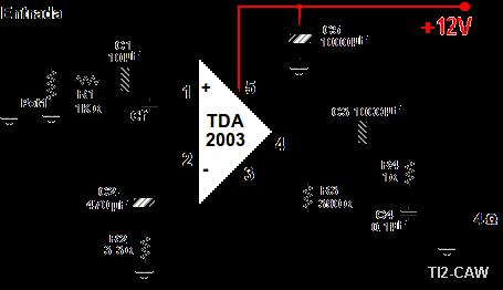 Tda2009 datasheet