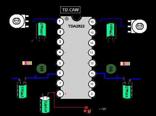 Circuito Amplificador De Audio : Construir amplificadores de audio baja potencia tambien