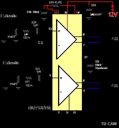 Усилитель tda1557q схема схемы для всех