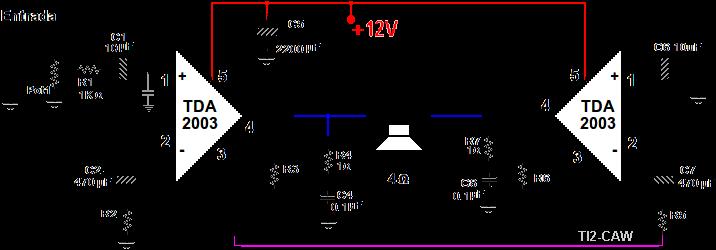 AMPLIFICADOR TDA2003 PDF