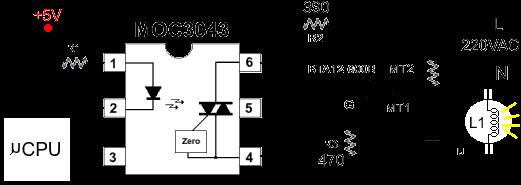 Circuito Optoacoplador : Optoacopladores u optoaisladores funcionamiento y uso