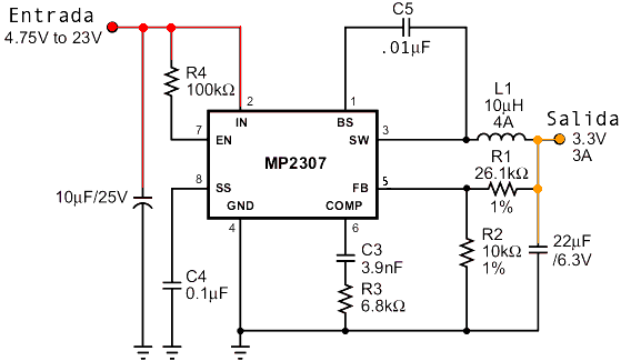 Circuito Regulador De Voltaje : Circuito regulador de voltaje para moto