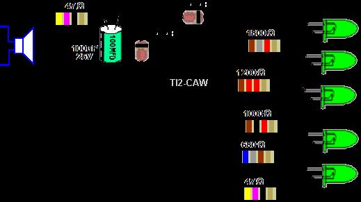 1 x LED 1W Componente LED de Alta Potencia Amarillo 595nm Diodo Emisor de Luz en 20mm placa de circuito impreso PCB Iluminaci/ón del Acuario Crecen luces y proyectos electr/ónicos
