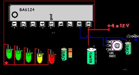 , LEDs sincronizados com áudio (com vídeo de demonstração)
